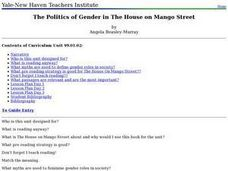 The Politics of Gender in The House on Mango Street Lesson Plan