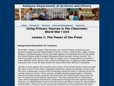 The Power of the Press Lesson Plan