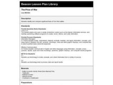 The Price of War Lesson Plan