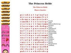The Princess Bride Worksheet