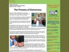 The Process of Democracy Lesson Plan