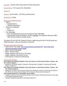 Printables Progressive Era Worksheets progressive era worksheet vintagegrn the muckrakers grade 8 7th 11th lesson