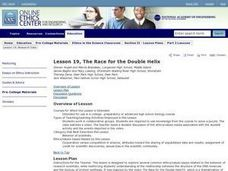 The Race for the Double Helix Lesson Plan