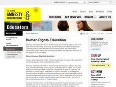 The Right to an Education Lesson Plan