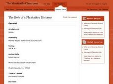 The Role of a Plantation Mistress Lesson Plan