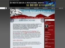 The Roman Empire: in the First Century. For Educators | PBS Lesson Plan