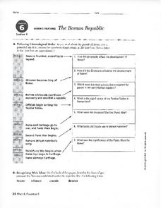 the roman republic in this roman republic worksheet students gather ...