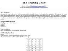 The Rotating Grille Lesson Plan