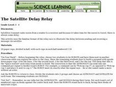The Satellite Delay Relay Lesson Plan