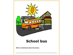 The School Bus Worksheet