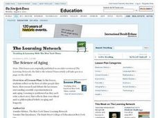 The Science of Aging Lesson Plan