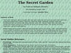 The Secret Garden Lesson Plan