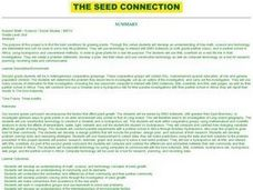 The Seed Connection Lesson Plan