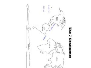 The Seven Continents Worksheet