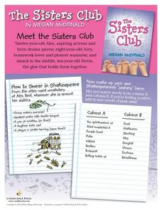 The Sisters Club Lesson Plan