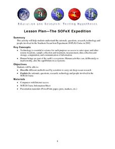 The SOFeX Expedition Lesson Plan