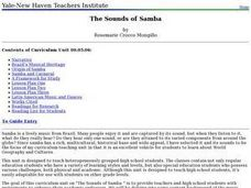 The Sounds of Samba Lesson Plan