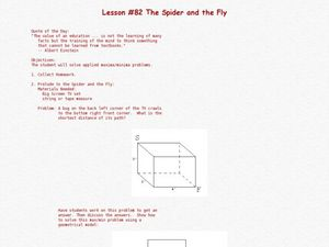 The Spider And The Fly Lesson Plan