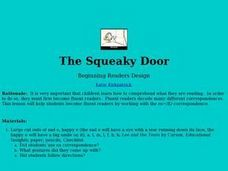 The Squeaky Door Lesson Plan
