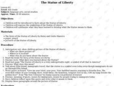 The Statue of Liberty - Symbolism Lesson Plan