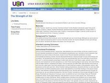 The Strength of Air Lesson Plan