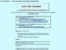 The Sundial Lesson Plan