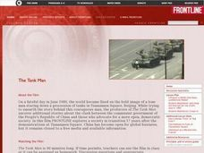 The Tank Man Lesson Plan