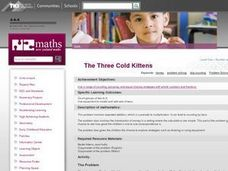 The Three Cold Kittens Lesson Plan
