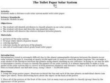 The Toilet Paper Solar System Lesson Plan