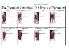 Printables Treaty Of Versailles Worksheet treaty of versailles worksheets imperialdesignstudio and its leaders in this worksheet