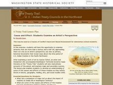 The Treaty Trail: Examining an Artist's Perspective Lesson Plan