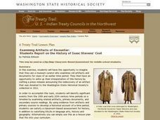 The Treaty Trail: U.S. Indian Treaty Councils in the Northwest Lesson Plan