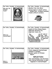 The Turks, Istanbul, & Constantinople Lesson Plan