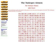 The Tuskegee Airmen Worksheet