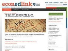 The Unemployment Rate - September 2005 Lesson Plan