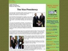 The Vice Presidency Lesson Plan