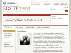 The War in the North, 1775–1778 Lesson Plan