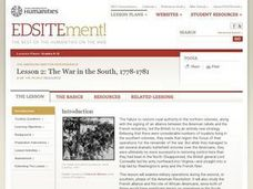 The War in the South, 1778–1781 Lesson Plan