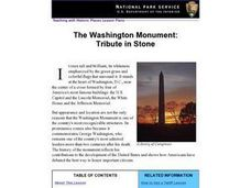 The Washington Monument: Tribute in Stone (62) Lesson Plan
