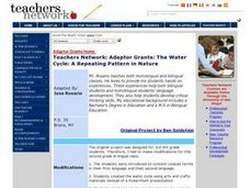 The Water Cycle: A Repeating Pattern in Nature Lesson Plan