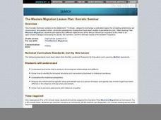 The Western Migration Lesson Plan: Socratic Seminar Lesson Plan