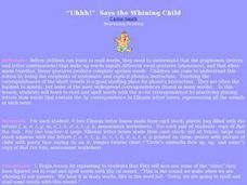 The Whining Child Lesson Plan