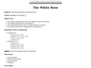 The White Rose Lesson Plan