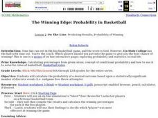 The Winning Edge: Probability in Basketball: Lesson 2 Lesson Plan