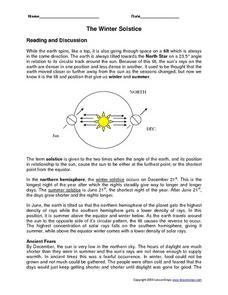 the winter solstice 5th 6th grade worksheet lesson planet. Black Bedroom Furniture Sets. Home Design Ideas
