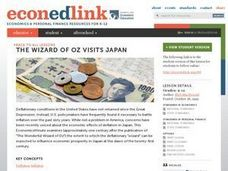 The Wizard of Oz Visits Japan Lesson Plan