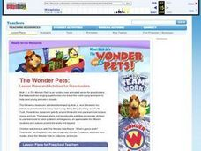 The Wonder Pets Lesson Plan