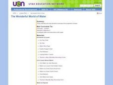 The Wonderful world of Water Lesson Plan