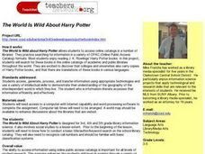 The World Is Wild About Harry Potter Lesson Plan