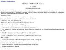 The World of Cinderella Stories Lesson Plan